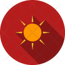 Sunny Sun Bright Icon