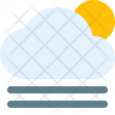 Cloudy Gust Day Icon