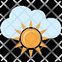 Sun Day Cloud Icon