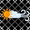 Sun Wind Condition Icon
