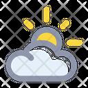 Sunny Summer Cloud Icon
