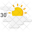 Sunny Hot Forecast Icon