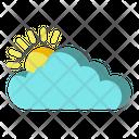 Climate Forecast Sunny Icon