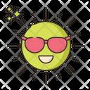 Sunny Goggle Sun Icon