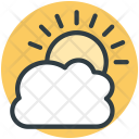 Sunny Cloud Weather Icon