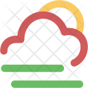Sunny Forecast Rate Icon