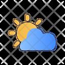 Sunny Cloud Icon