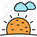 Sunny Clouds Icon