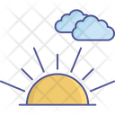 Meteorology Sunny Clouds Weather Icon