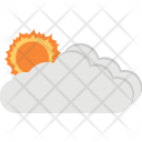 Sunny Cloudy Icon