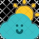 Sunny Day Sunny Air Icon