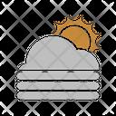 Sunny Fog Icon