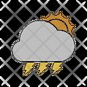 Sunny Lightning Icon