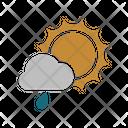 Sunny Rainy Icon