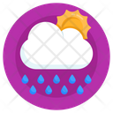 Sunny Rainy Day Icon