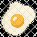 Egg Eggs Sunny Side Icon