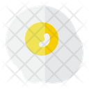 Sunny Side Up Egg Breakfast Icon