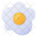Sunny Side Up Egg Icon