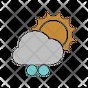 Sunny Snowball Icon