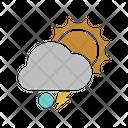 Sunny snowball ligtning Icon