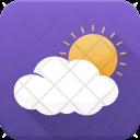 Sunrise Sunshine Cloud Icon