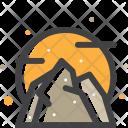 Rock Stone Mountain Icon