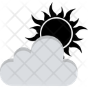 Sunny Cloudy Weather Cloudy Icon
