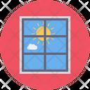 Sun Window Sunrise Icon