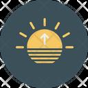 Sun Light Sea Icon