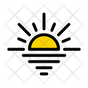 Sunset River Weather Icon