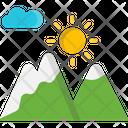 M Sunrise Icon