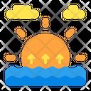 Sunrise Weather Forecast Icon