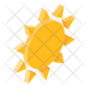 Clear Day Sunrise Sun Icon