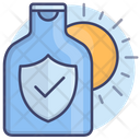 Sun Protect Lotion Icon
