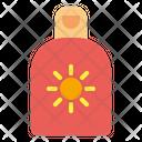 Sunscreen Sunblock Cream Icon