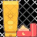 Sunscreen Sunblock Lotion Icon
