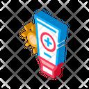 Body Care Container Icon