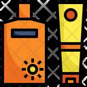 Sunscreen Lotion Icon