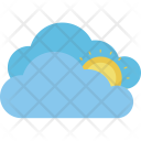Sunset Hot Day Icon