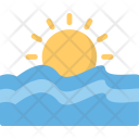 Sun Sea Forecast Icon