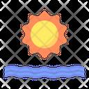 Sea Beach Water Icon