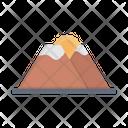 Sunset Sun Mountain Icon