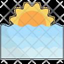 Sunset Sunrise Nature Icon