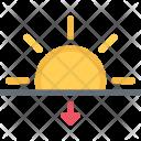 Sunset Agent Insurance Icon