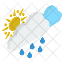 Sunshower Rain Icon