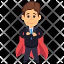 Super Businessman Icon