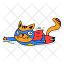 Super Cat Cat Hero Icon