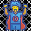 Super Dad Super Father Hero Icon