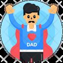 Super Dad Icon
