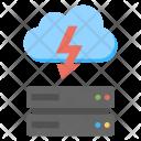 Super Fast Cloud Storage Icon